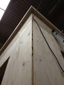 roof overhang complete