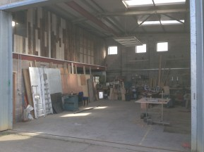 Workshop without cabin