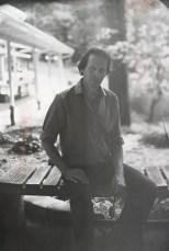 Daguerreotypist Jerry Spagnoli at Penland School of Crafts in North Carolina.