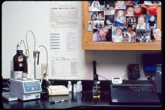 The last functioning Kodachrome chemistry lab on earth at Dwayne's Photo in Parsons, Kansas, circa 2010. Photo © Stephen Takacs