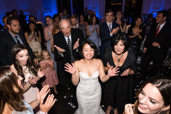 wedding reception down town club philadelphia