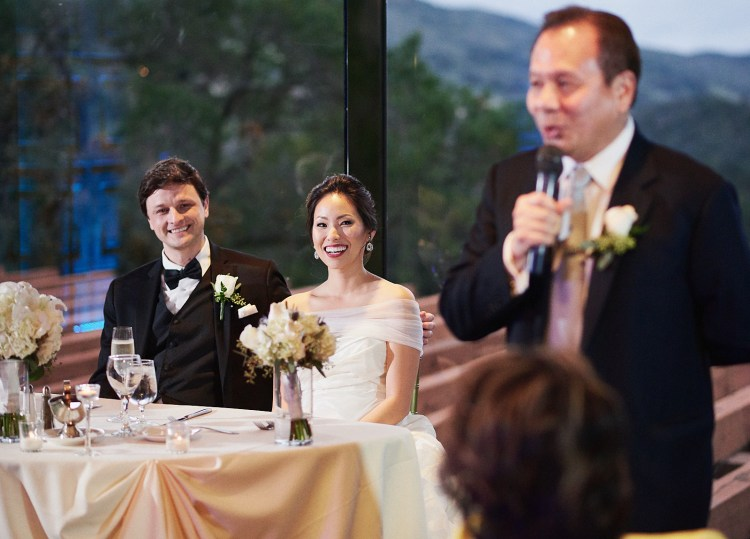 Wedding speeches Dove Canyon Country Club