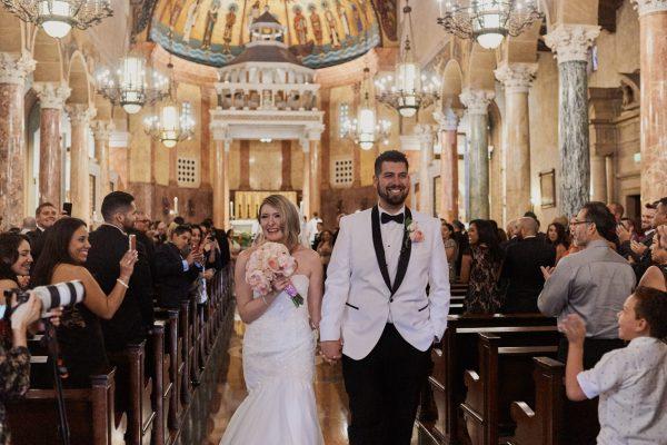 St. Andrew Catholic Church Pasadena Wedding ceremony