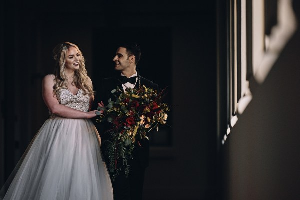 bride and groom pasadena city hall