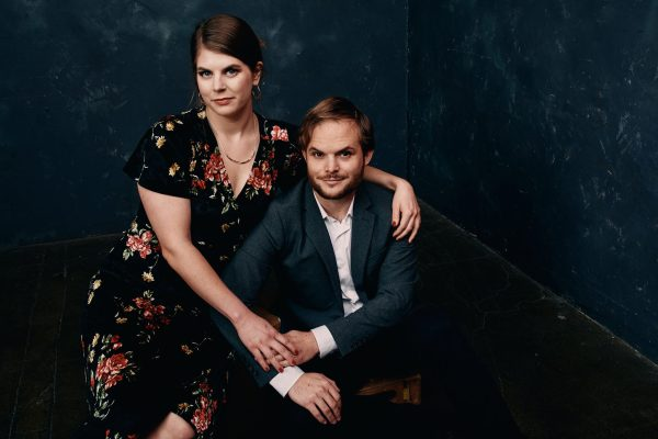studio portrait wedding