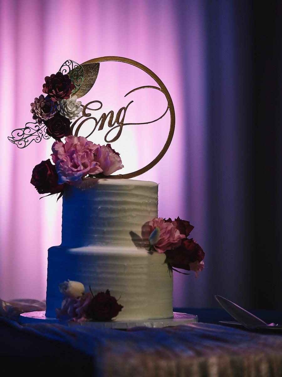 Salvation Army Crestmont College wedding cake