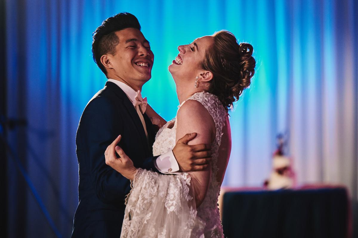Salvation Army Crestmont College wedding reception