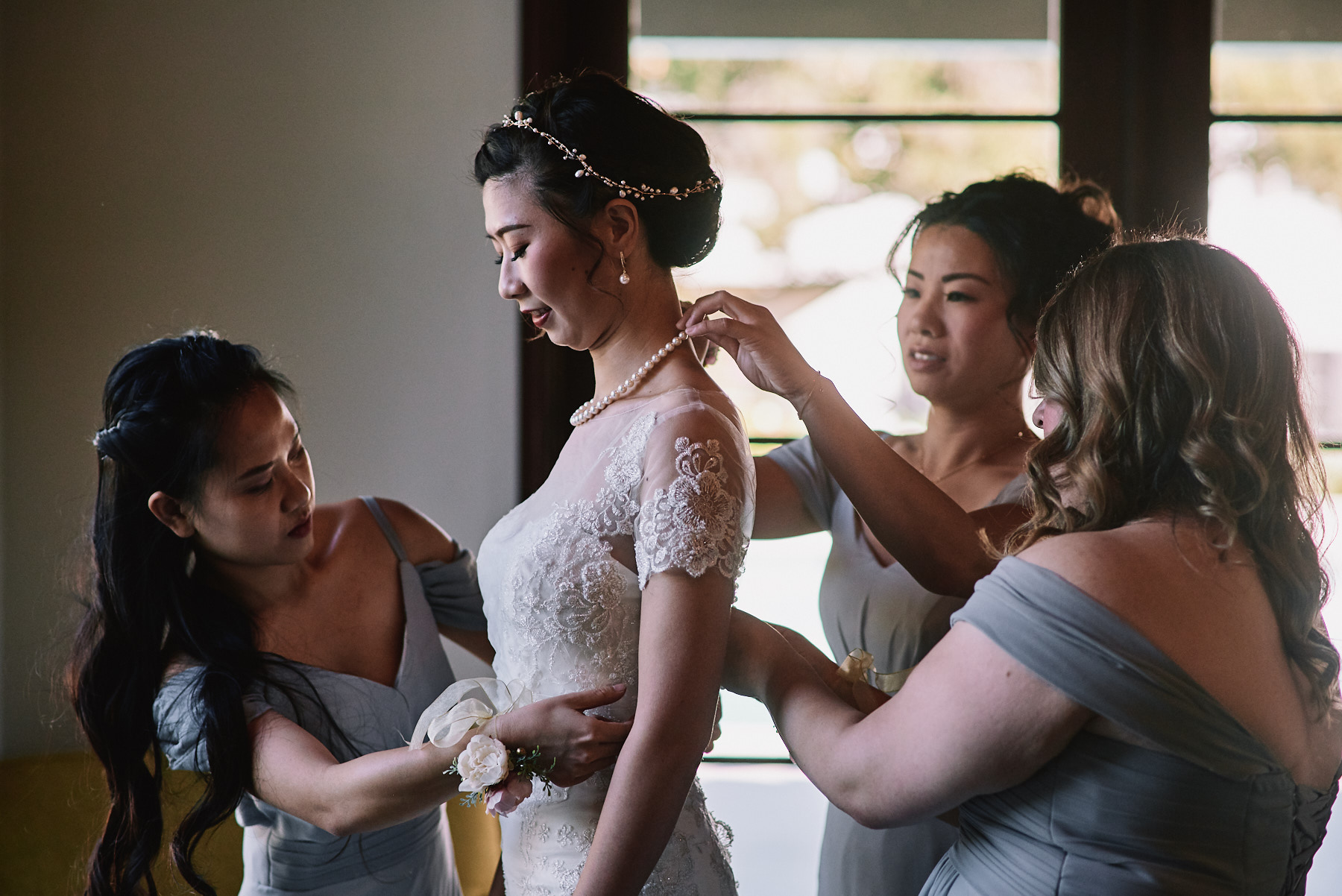 Quail Ranch wedding bridal prep