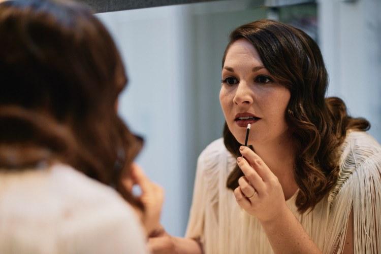 Riviera Mansion bride makeup