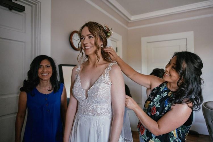 Altadena Country Club wedding bridal prep
