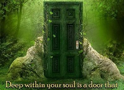 door to a spiritual world