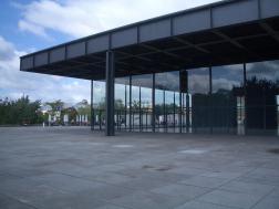 Neue Nationalgallerie, Berlin - Mies van der Rohe 02_Stephen Varady photo ©