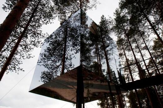 Tham & Videgård Arkitekter - Tree Hotel exterior 04