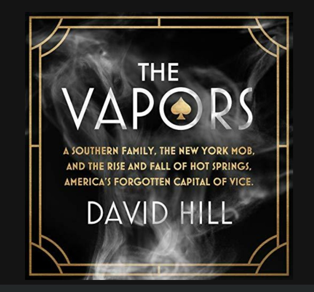 Audible book cover for The Vapors