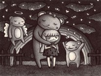 I'm sad because only bears seem to like me.