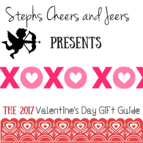 Stephs Cheers and Jeers is now accepting entries for the 2017 Valentine's Day Gift Guide.