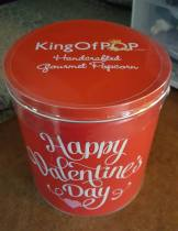 Valentine's Day Popcorn Tin from GourmetGiftBaskets.com