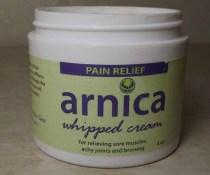 Arnica Whipped Pain Relief Cream from The Body Lounge