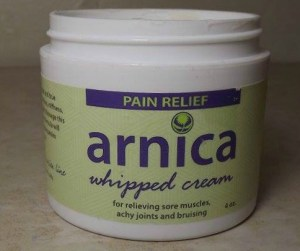 Arnica Whipped Cream Pain Relief