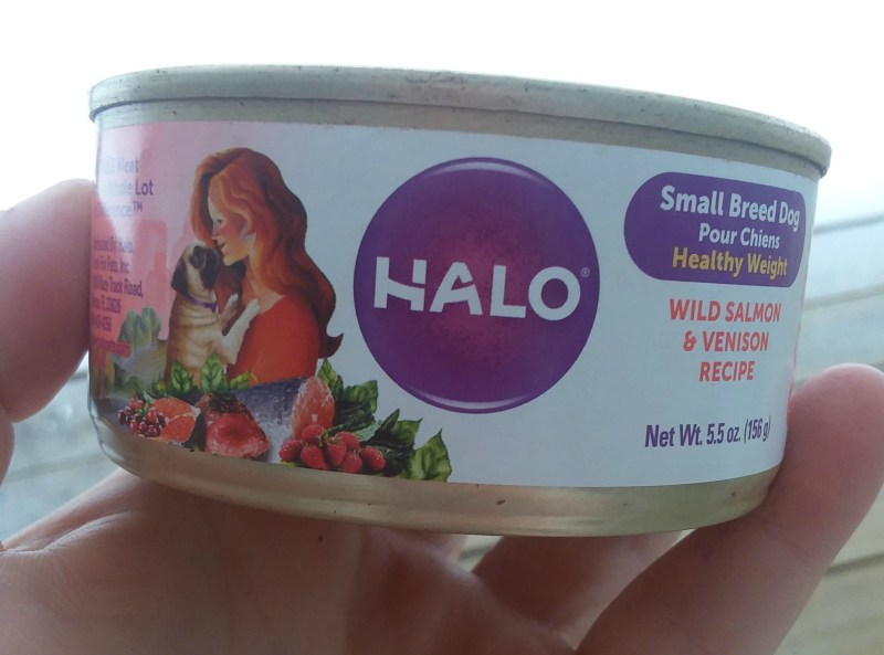 Chewy Influencer: Halo Small Breed Canned Dog Food