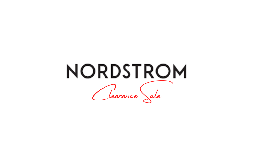 Nordstrom Clearance Sale