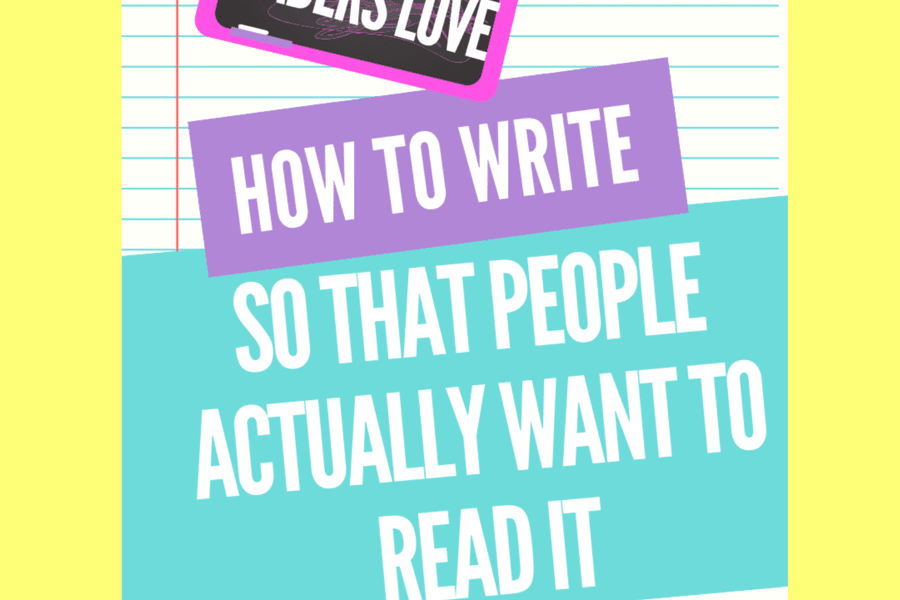 write stories people want to read