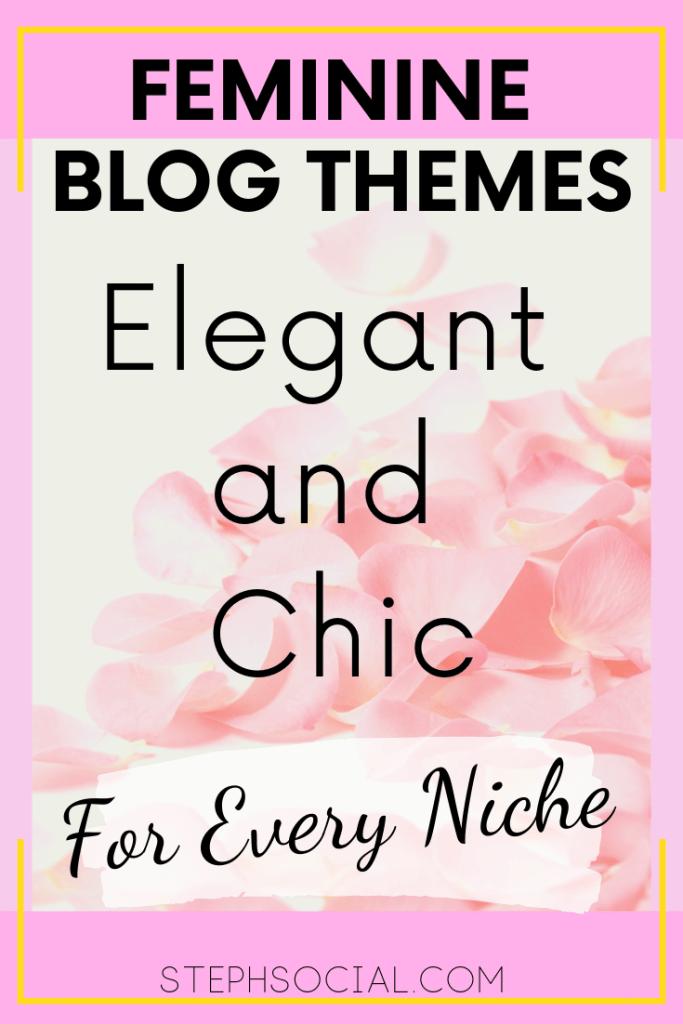 feminine blog themes