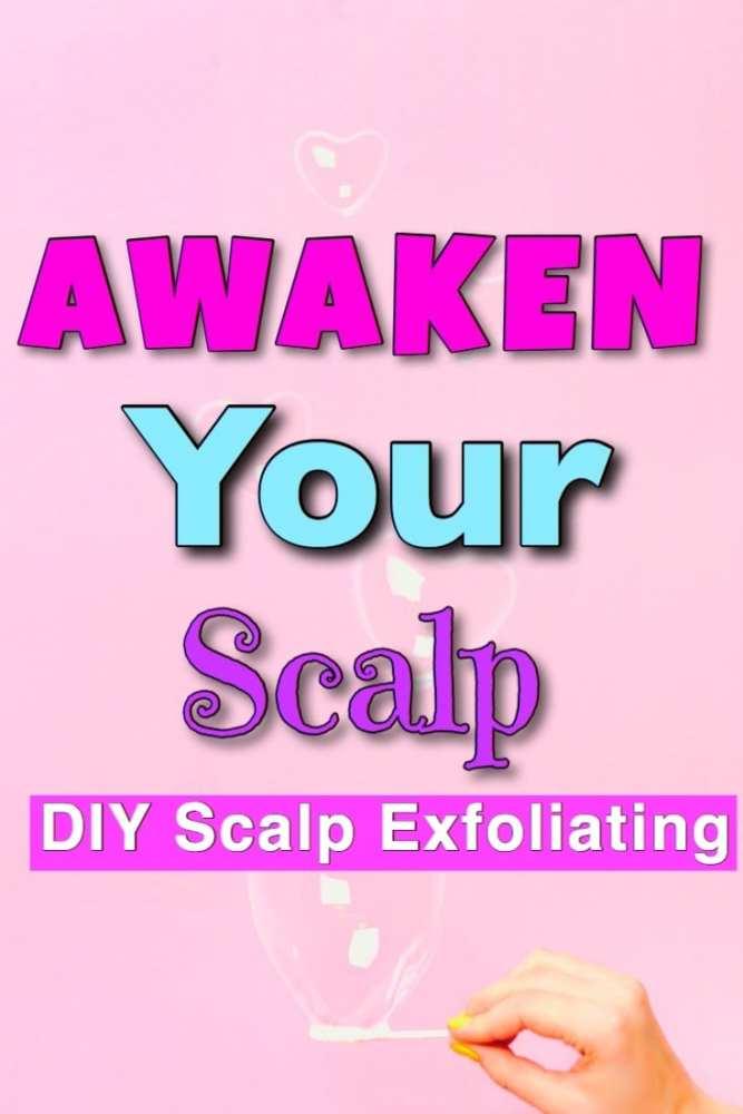 diy scalp scrub