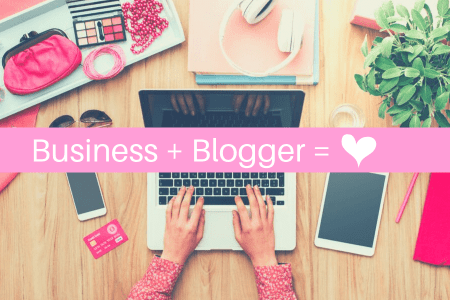 bloggers working with businesses