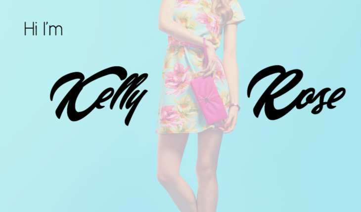 kelly rose font