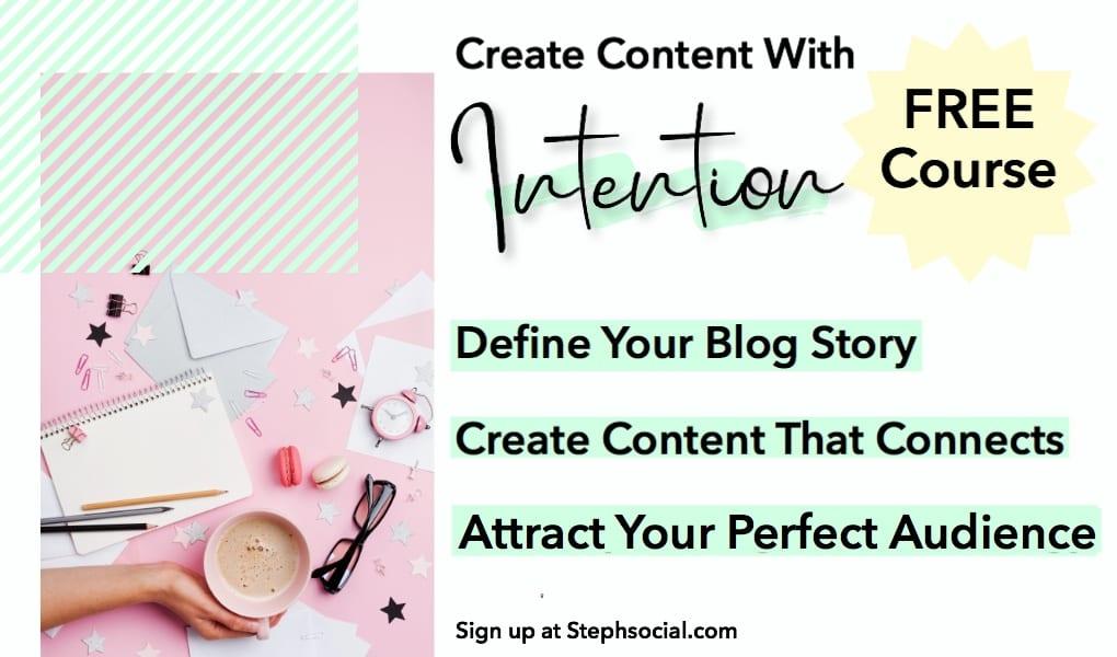 blogging course