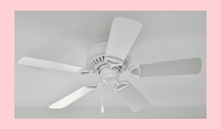 clean ceiling fan