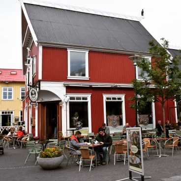 Where we had a delicious lunch on our first day in Reykjavik.