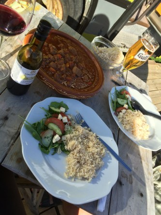 Absolutely delicious lamb tagine!