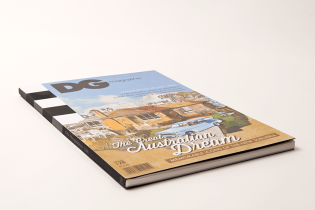 Printed DG cover