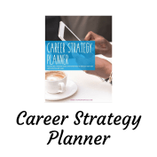 Cover of the Career Strategy Planner