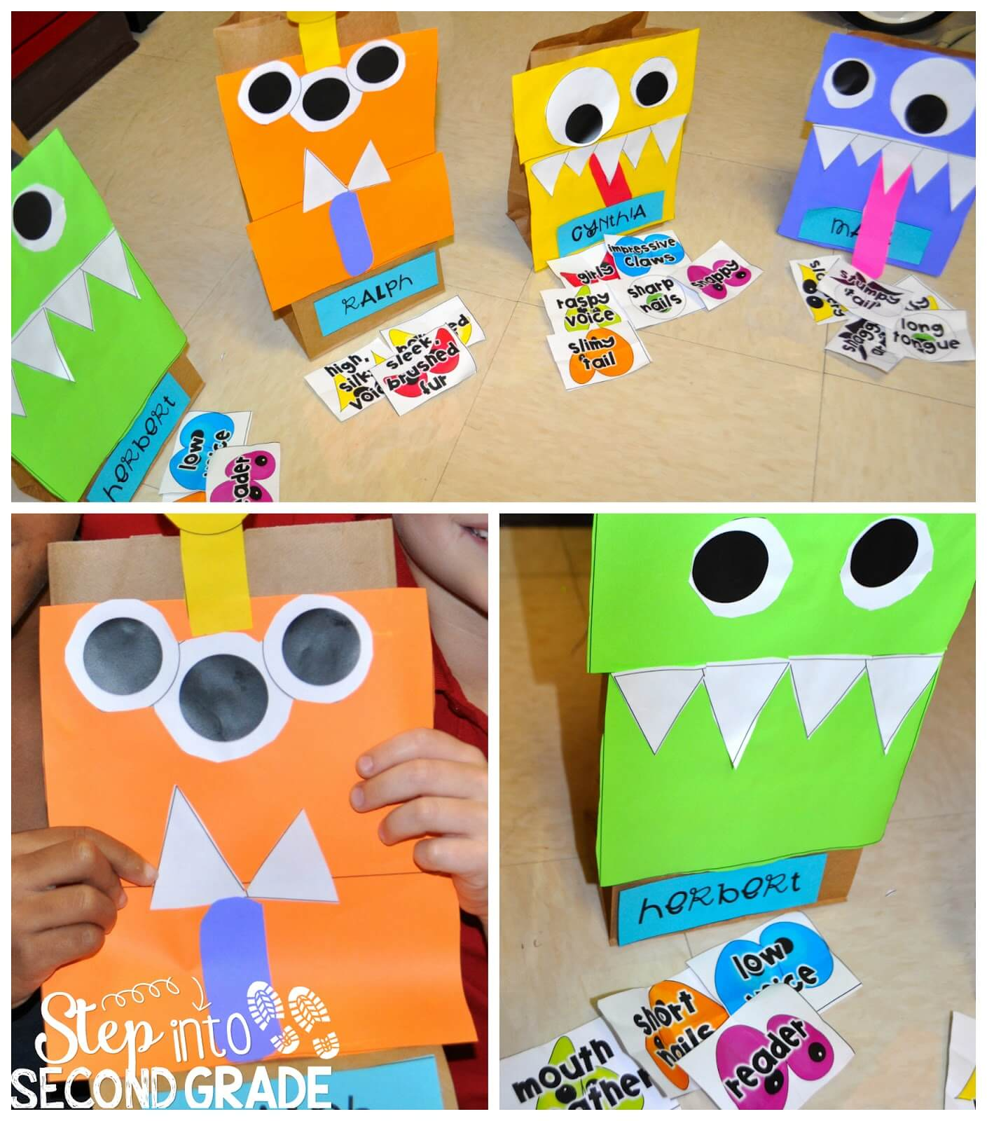 Character Traits With I Need My Monster