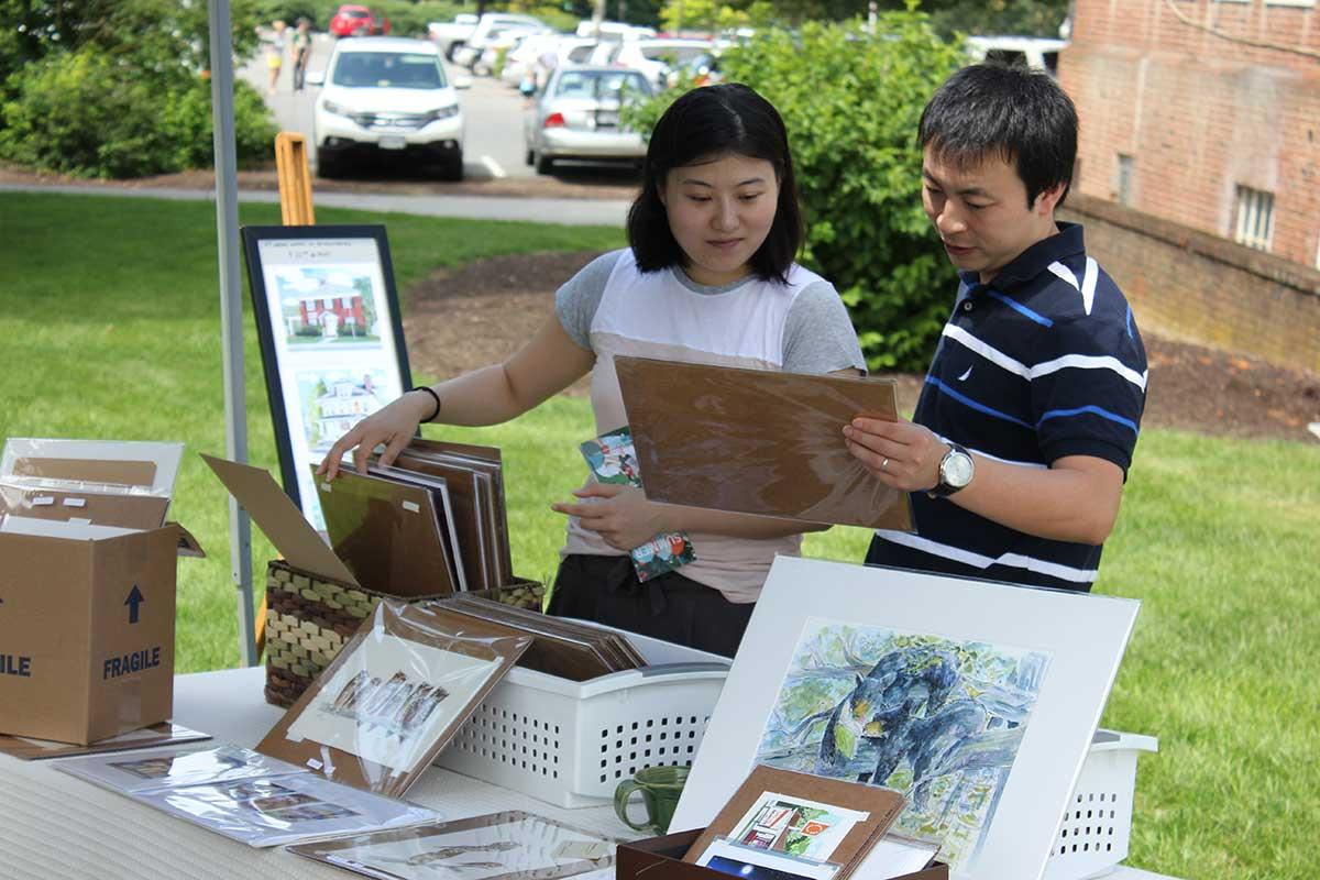 Art at the Market - Step Into Blacksburg