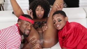 FILTHY FAMILY Black Stepmom Bangs Stepson LilD
