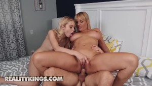 Reality Kings slutty blonde Chloe Cherry shares