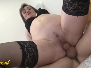 Horny Step Mom Wants Morning Creampie From Step