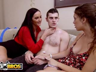 BANGBROS Stepmom Bianca Breeze Threesome With