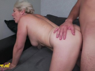 Cheating Housewife Gets Creampie From Toyboy