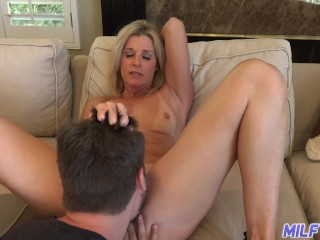 MILFTRIP Step Mom India Summer Welcomes Step Son