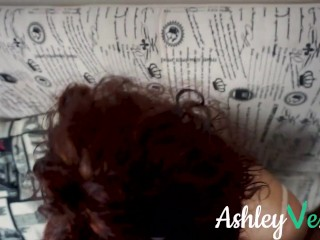 POV Blowjob Blue Eyed Redhead Ashley Ve