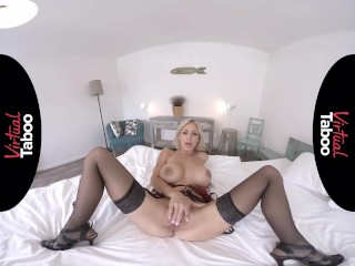 VIRTUAL TABOO Blonde MILF With Perfect Tits