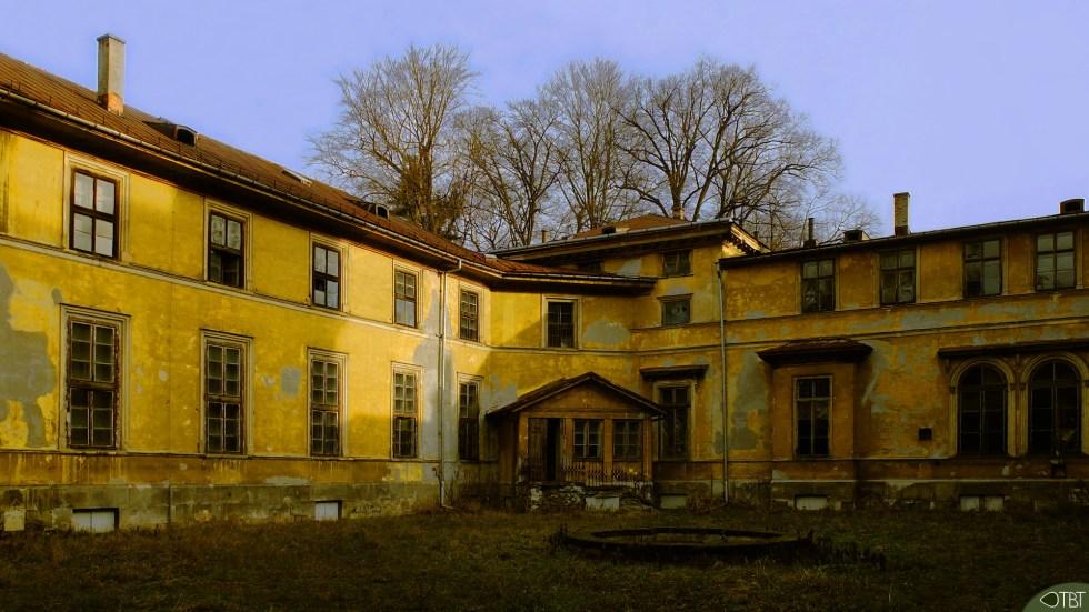The abandoned Potocki Palace - 1