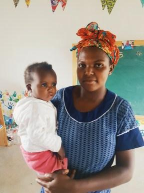 Förskola läraren i Lupigweni