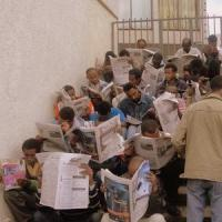 Fast readers of Ethiopia or Addis' avid culture of newspaper reading