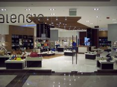 "From Hussam's Facebook page: ""Valencia Shoes located in Dubai Oasis Mall, Shikh Zaid Road. We carried out this project in 2009 and we handed it over in 45 days, working 24/7. We repeated the same design in Al Bawadi Mall in Al Ain."""
